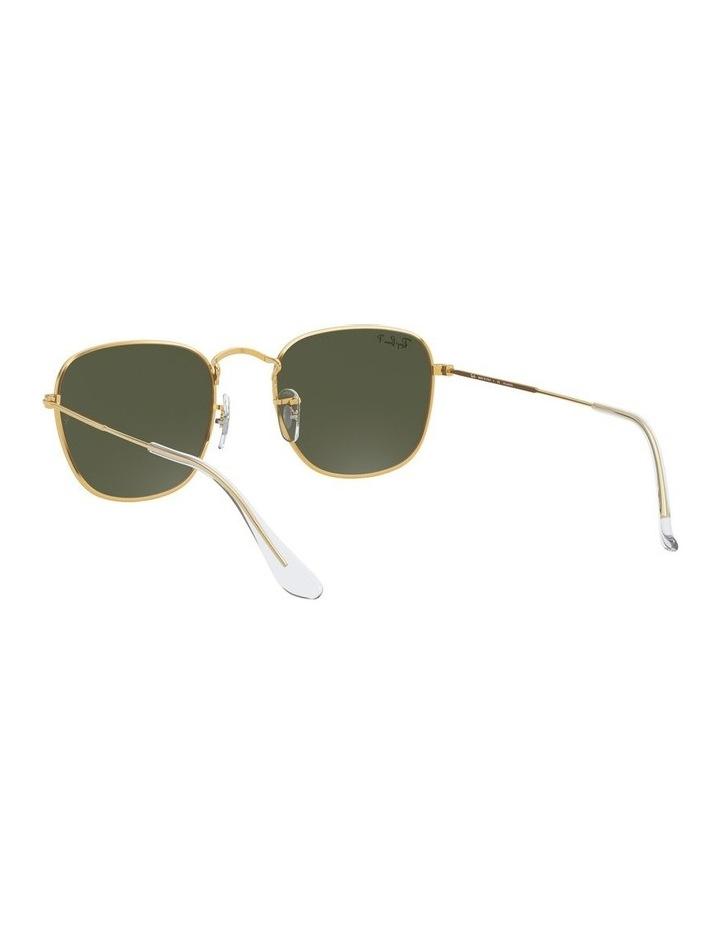 Frank Polarised Green Square Sunglasses 0RB3857 1529430008 image 6