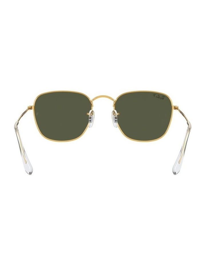 Frank Polarised Green Square Sunglasses 0RB3857 1529430008 image 7