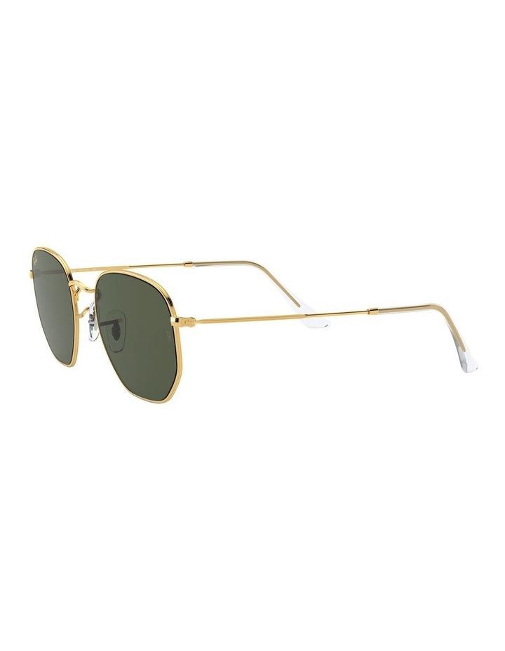Green Hexagon Sunglasses RB3548N 1529913001 image 3