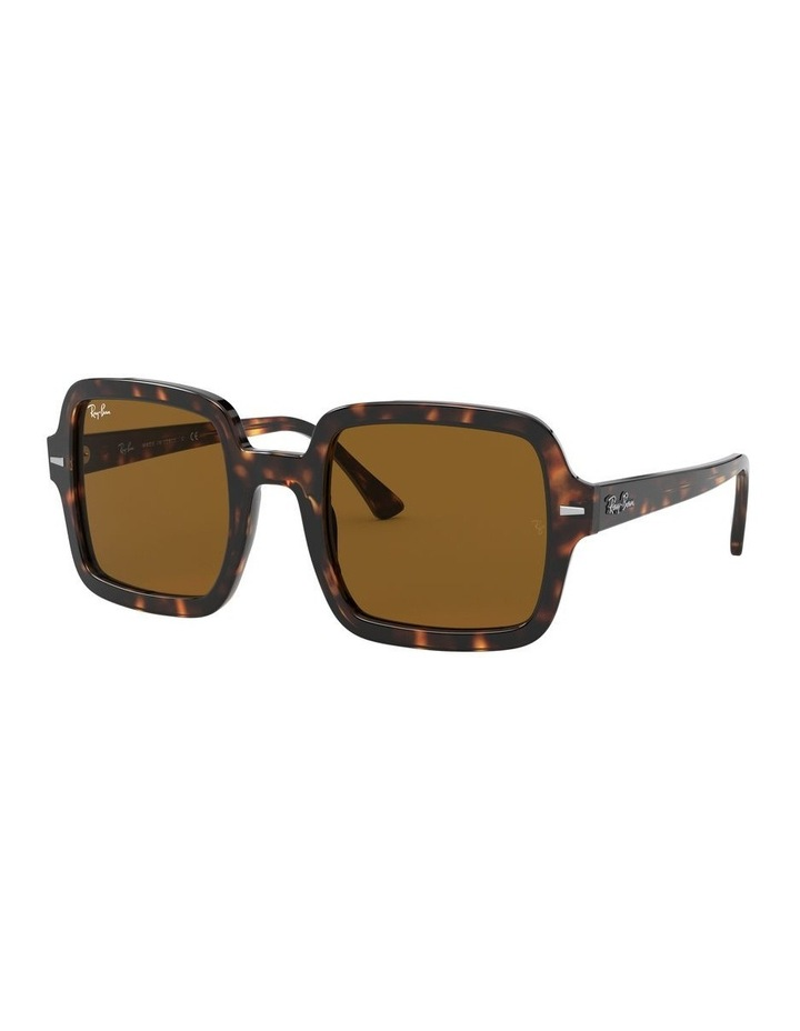 Brown Square Sunglasses 0RB2188 1530033002 image 1