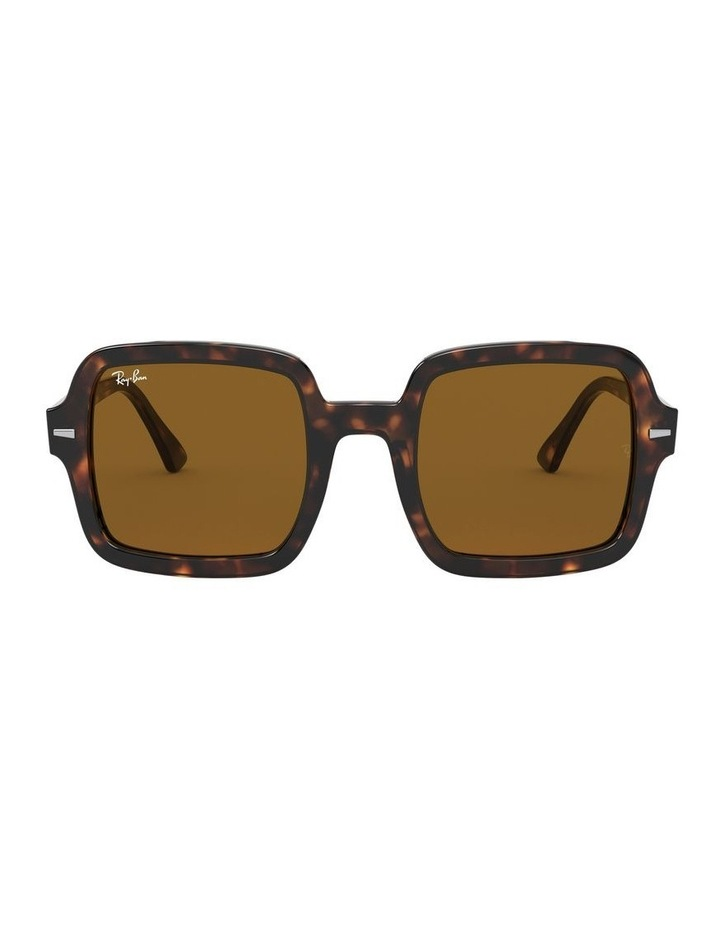 Brown Square Sunglasses 0RB2188 1530033002 image 2