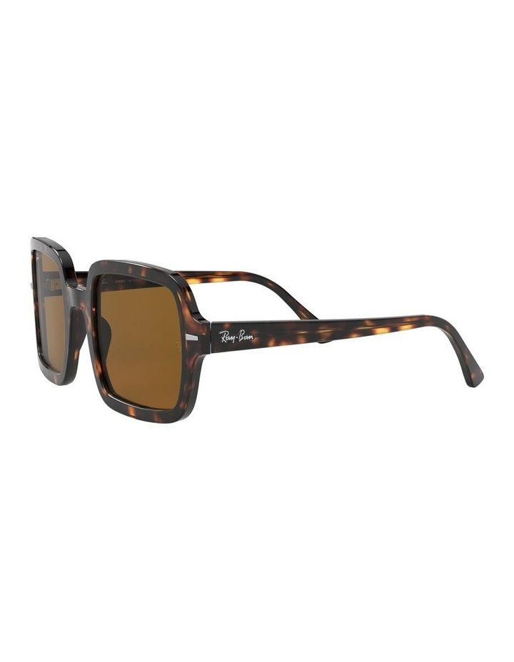 Brown Square Sunglasses 0RB2188 1530033002 image 3