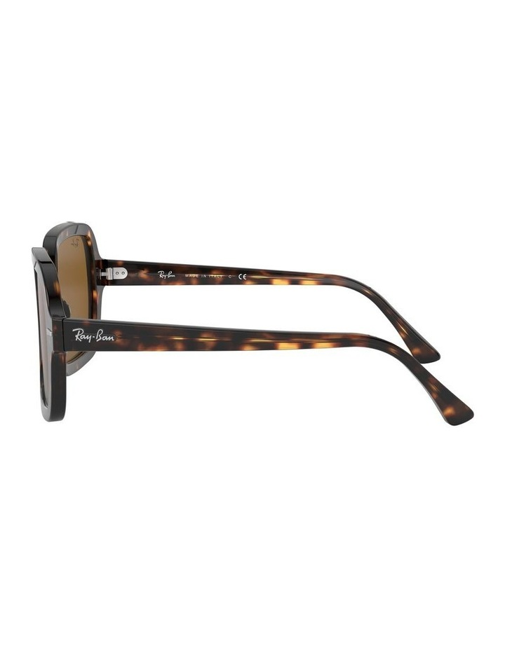 Brown Square Sunglasses 0RB2188 1530033002 image 4