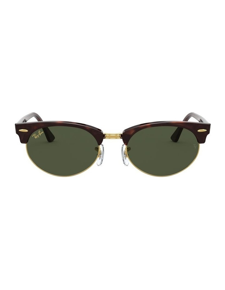 0RB3946 Clubmaster Oval 1531048002 Sunglasses image 2