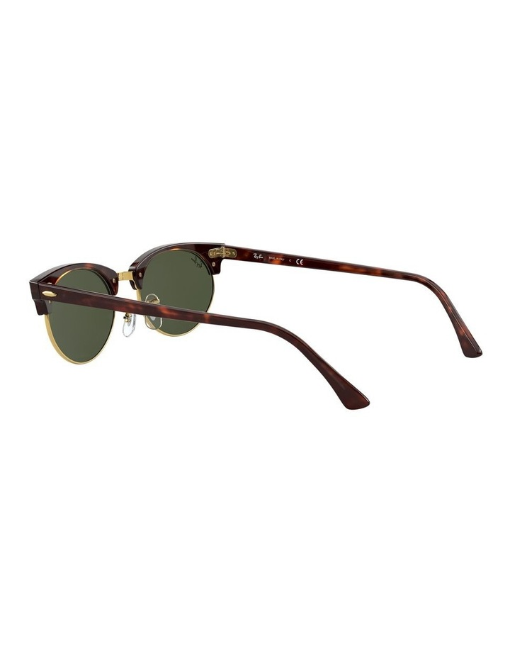 0RB3946 Clubmaster Oval 1531048002 Sunglasses image 4
