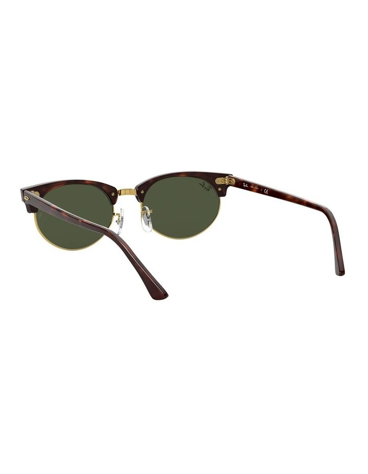 0RB3946 Clubmaster Oval 1531048002 Sunglasses image 5