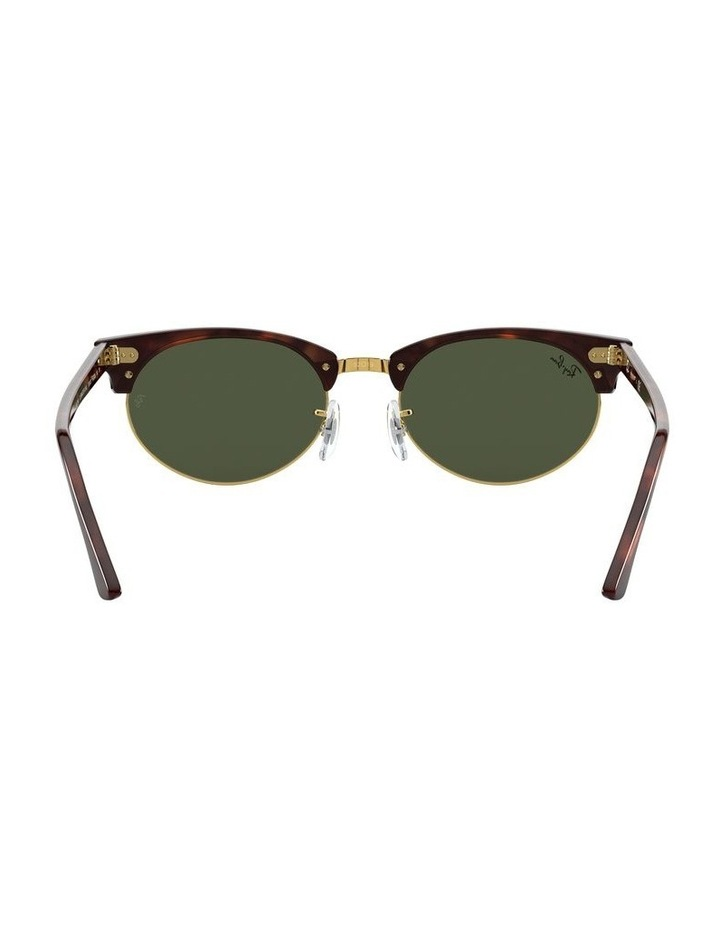 0RB3946 Clubmaster Oval 1531048002 Sunglasses image 6