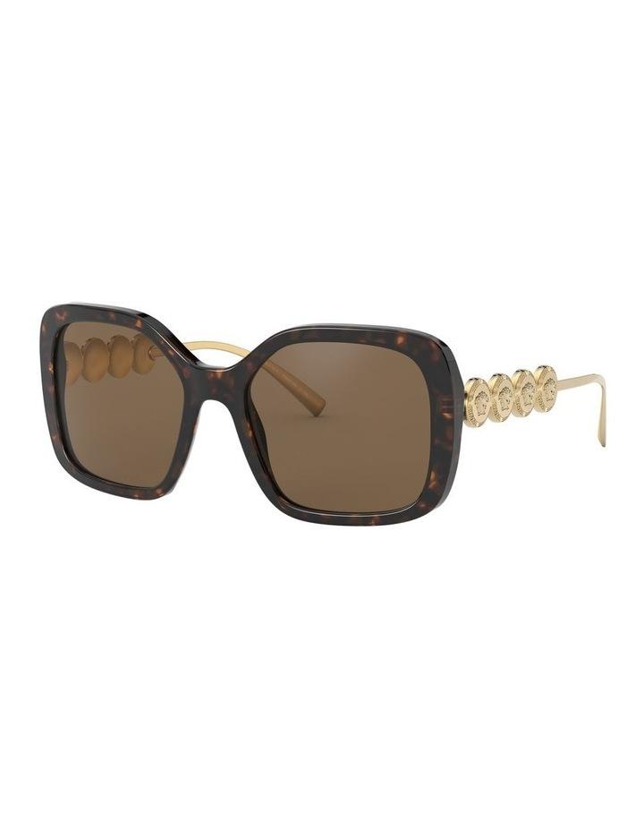 Brown Square Sunglasses 0VE4375 1527608001 image 2