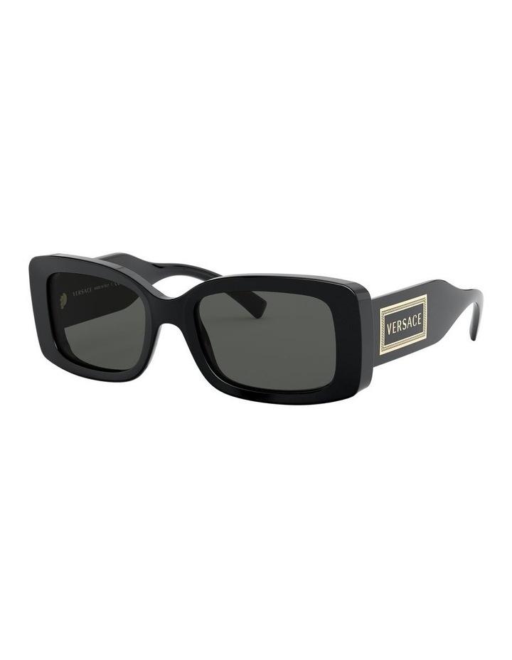 Grey Rectangle Sunglasses 0VE4377 1527836002 image 2