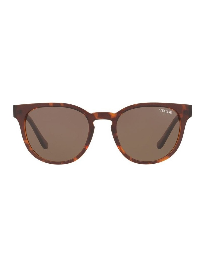 Brown Cat Eye Sunglasses 0VO5271S 1524397001 image 2