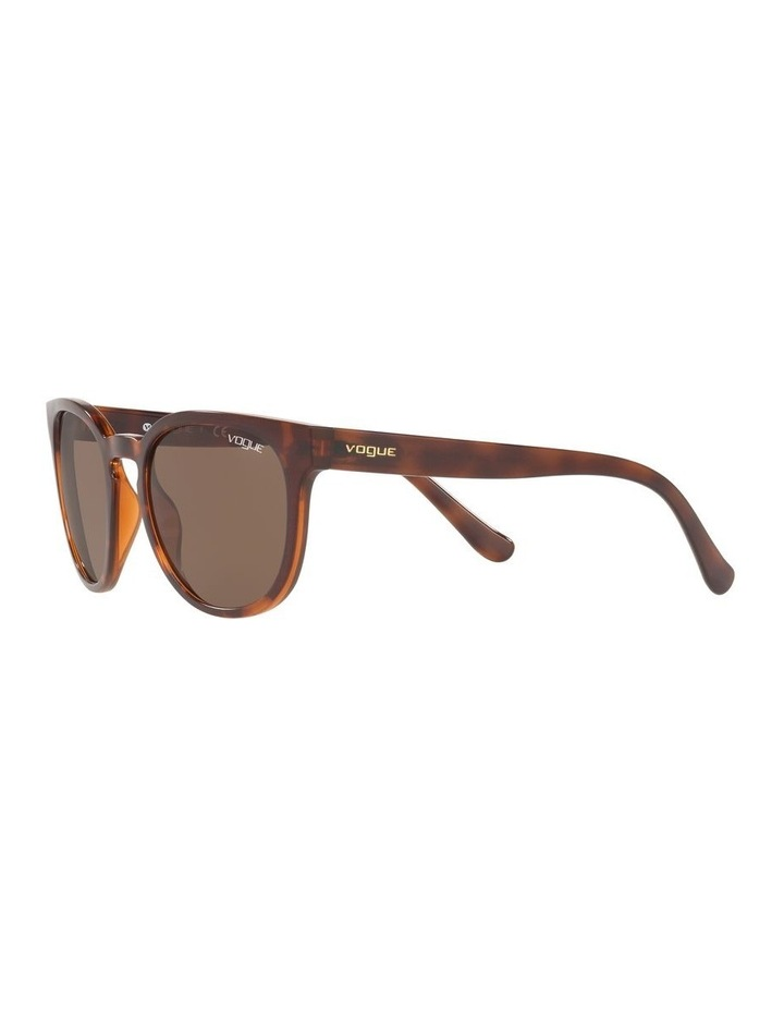 Brown Cat Eye Sunglasses 0VO5271S 1524397001 image 3