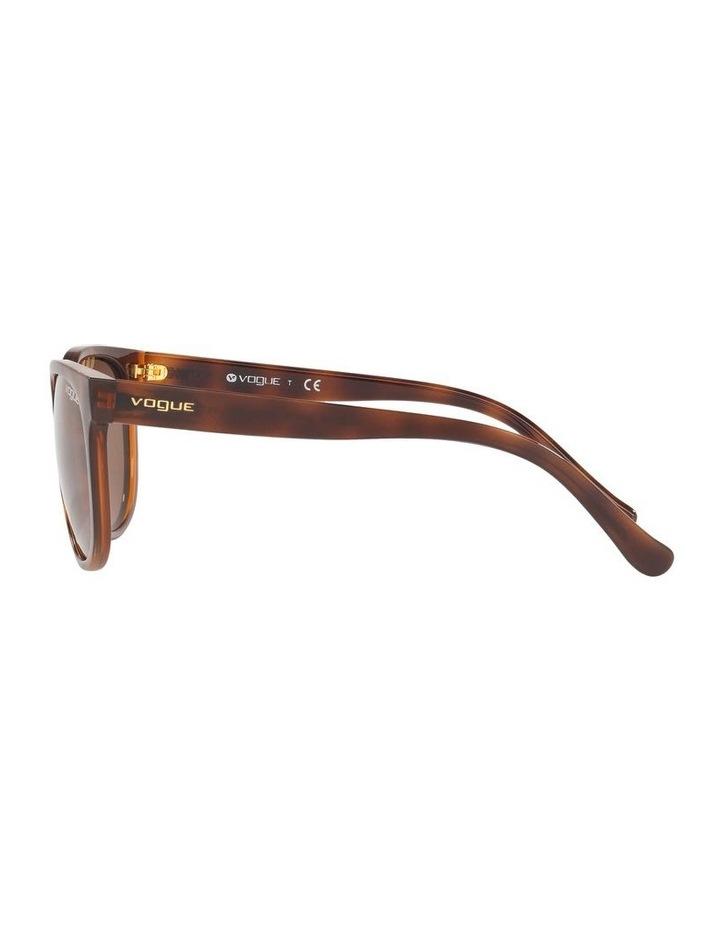 Brown Cat Eye Sunglasses 0VO5271S 1524397001 image 4