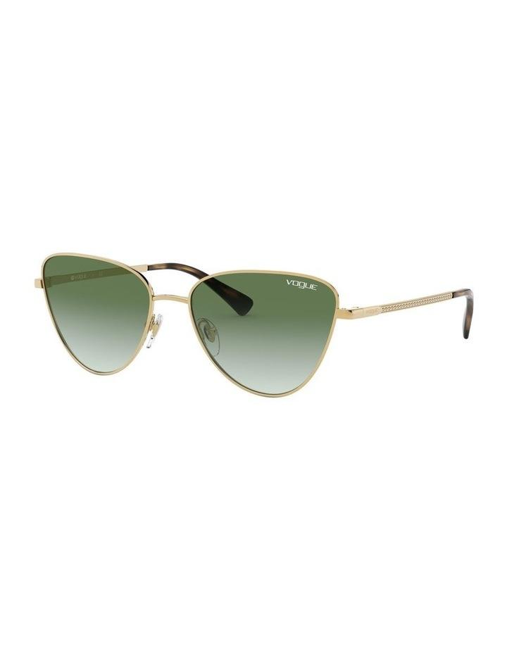 Green Cat Eye Sunglasses 0VO4145SB 1526348003 image 1