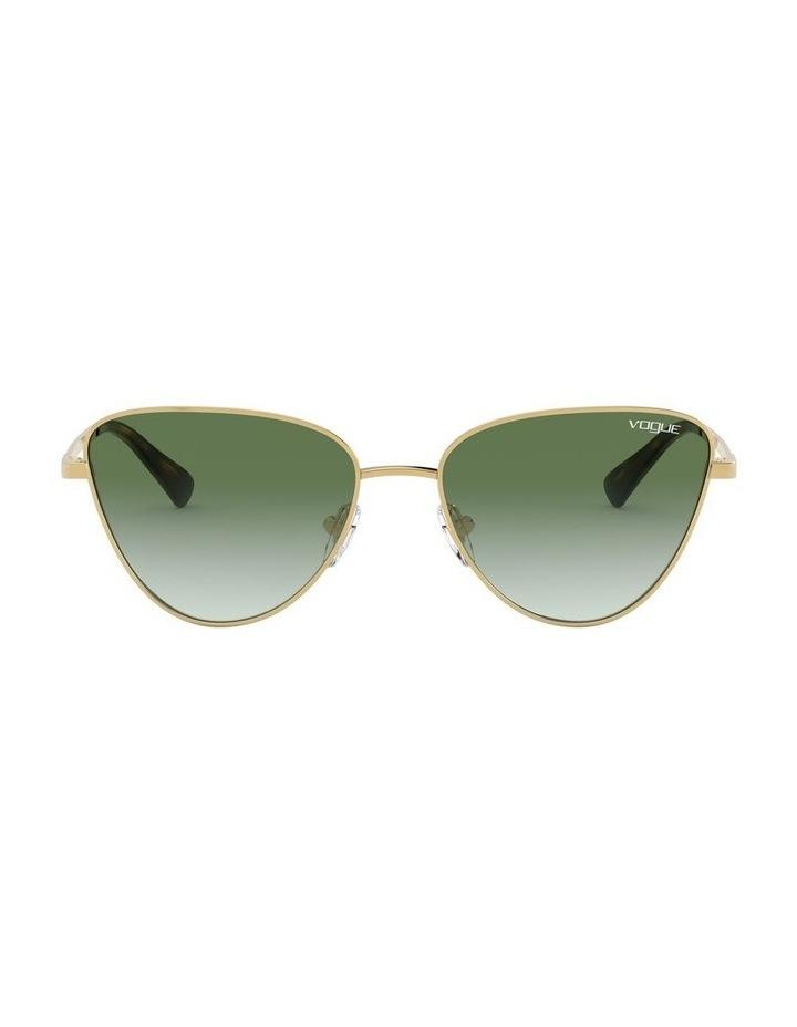Green Cat Eye Sunglasses 0VO4145SB 1526348003 image 2