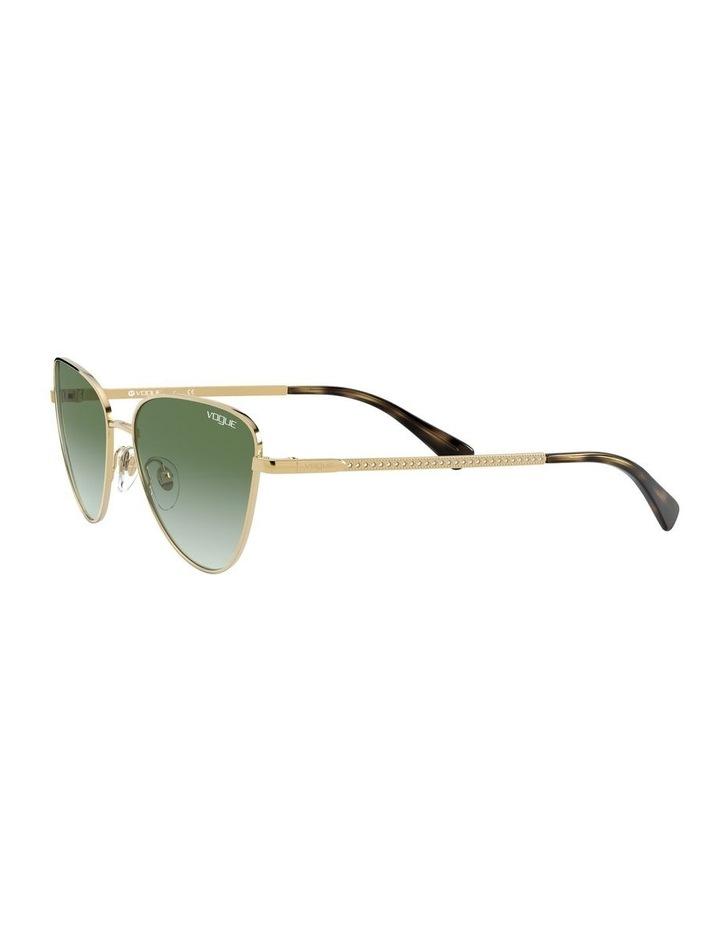 Green Cat Eye Sunglasses 0VO4145SB 1526348003 image 3