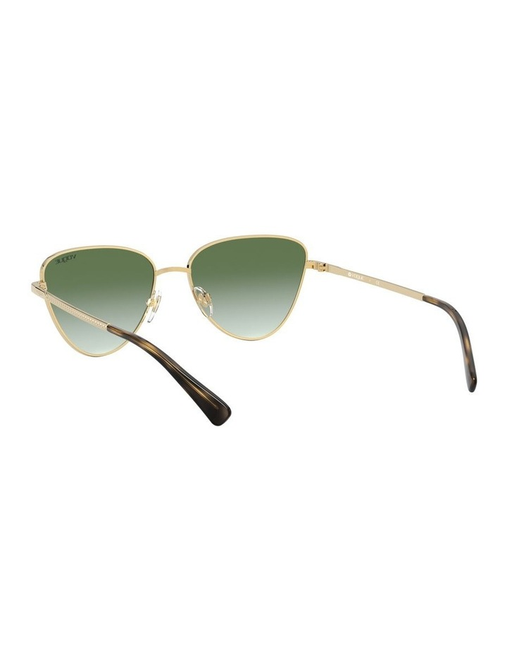 Green Cat Eye Sunglasses 0VO4145SB 1526348003 image 5