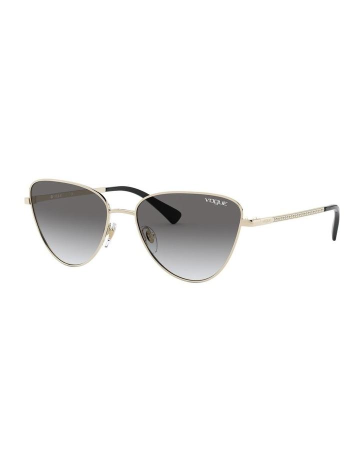 Grey Cat Eye Sunglasses 0VO4145SB 1526348005 image 1