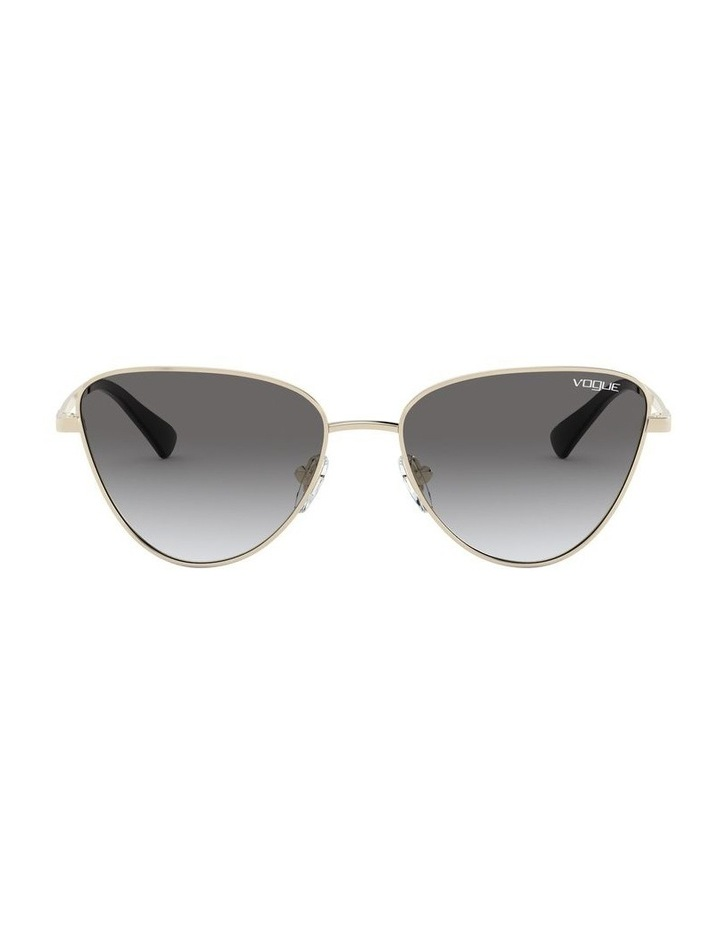 Grey Cat Eye Sunglasses 0VO4145SB 1526348005 image 2