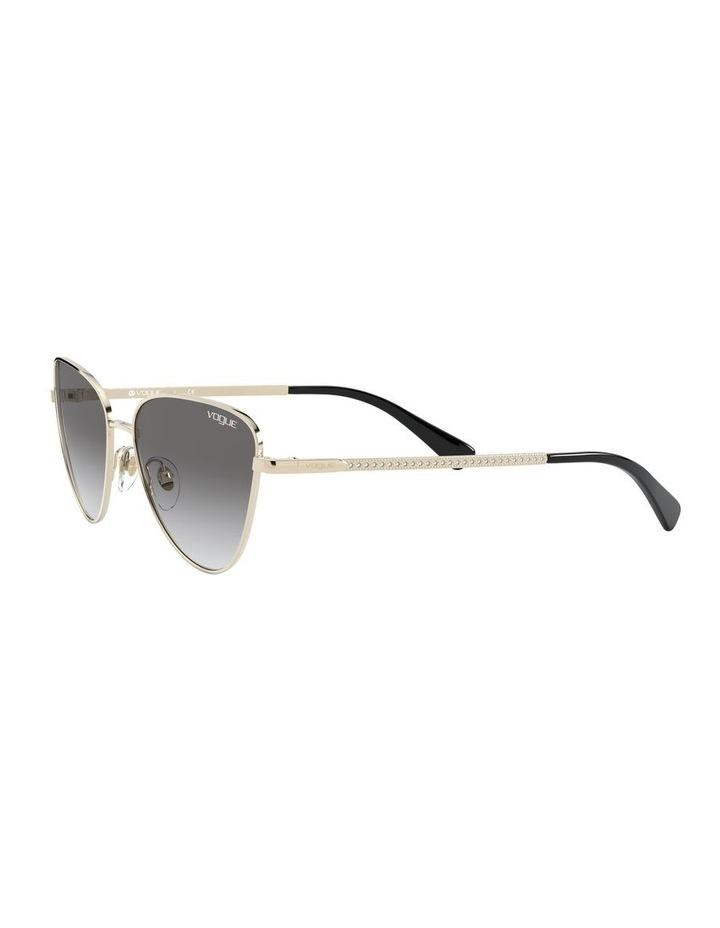 Grey Cat Eye Sunglasses 0VO4145SB 1526348005 image 3