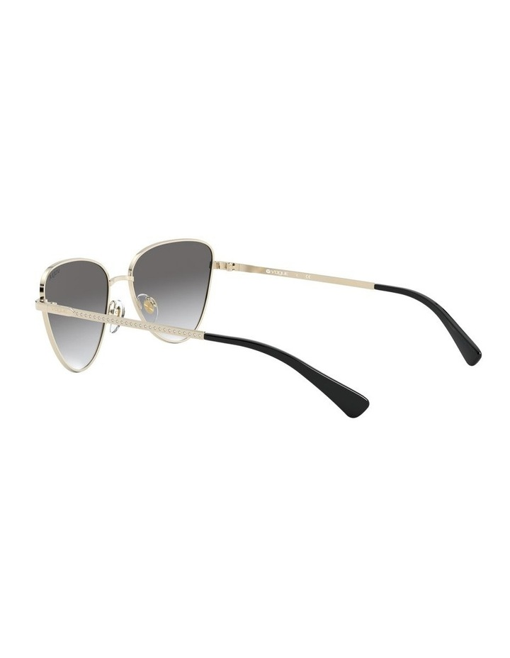 Grey Cat Eye Sunglasses 0VO4145SB 1526348005 image 5