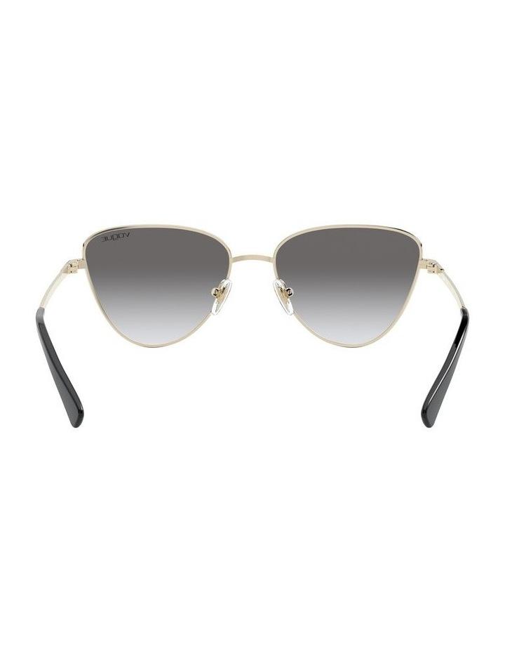 Grey Cat Eye Sunglasses 0VO4145SB 1526348005 image 6