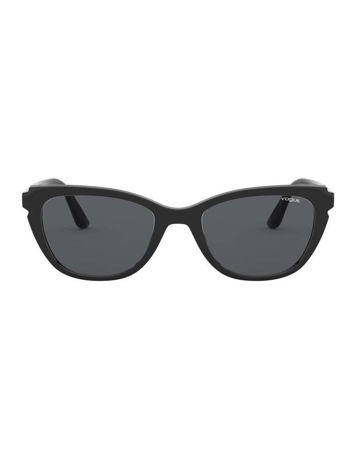 Grey Rectangle Sunglasses 0VO5293S 1526350002 image 2