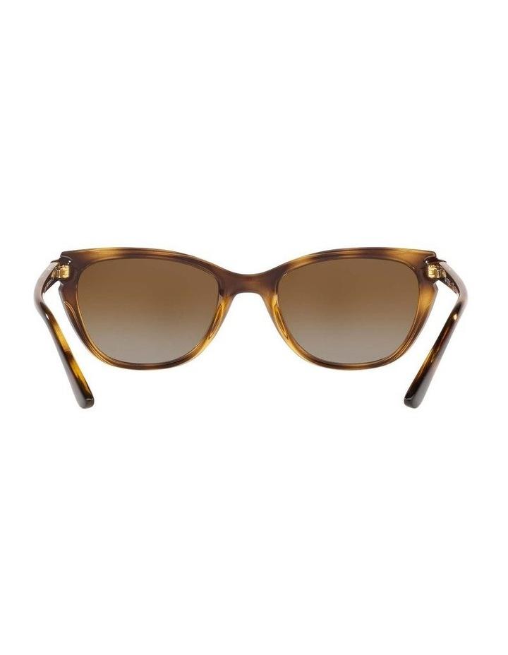 Polarised Brown Rectangle Sunglasses 0VO5293S 1526350003 image 7