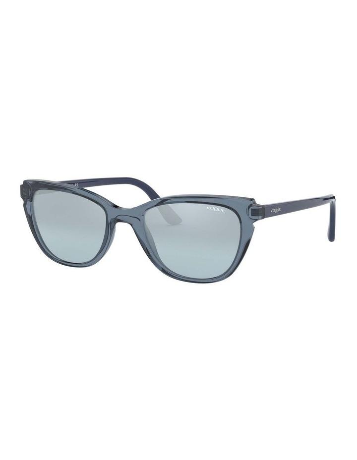 Blue Rectangle Sunglasses 0VO5293S 1526350004 image 1
