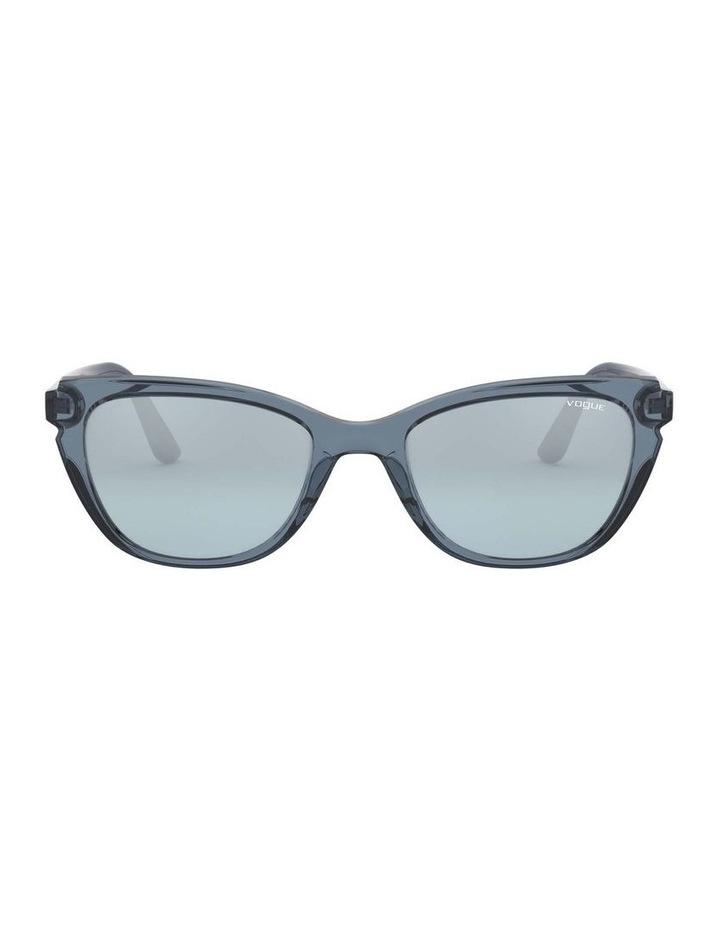 Blue Rectangle Sunglasses 0VO5293S 1526350004 image 2