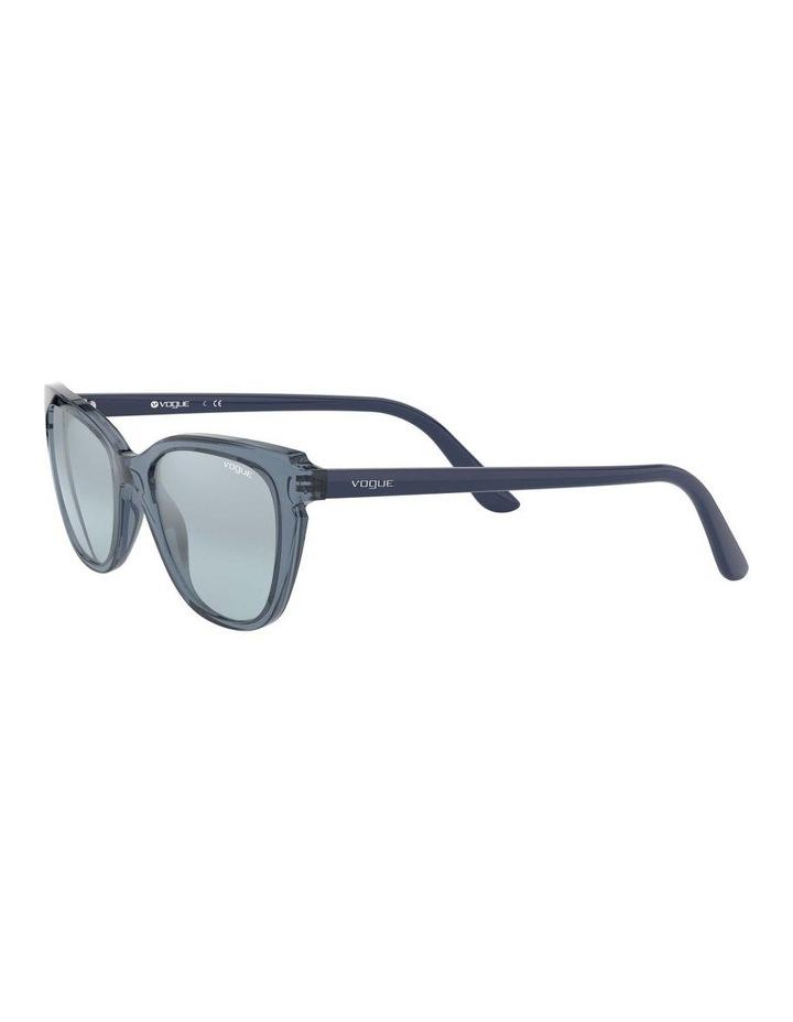 Blue Rectangle Sunglasses 0VO5293S 1526350004 image 3