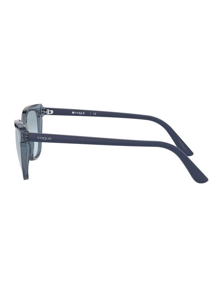 Blue Rectangle Sunglasses 0VO5293S 1526350004 image 4
