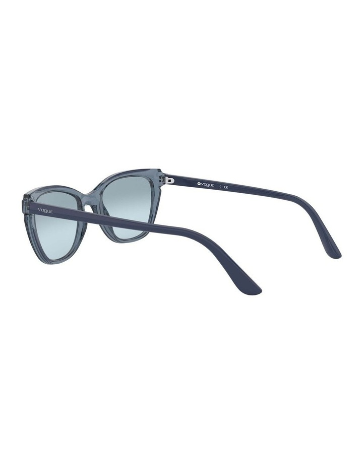 Blue Rectangle Sunglasses 0VO5293S 1526350004 image 5