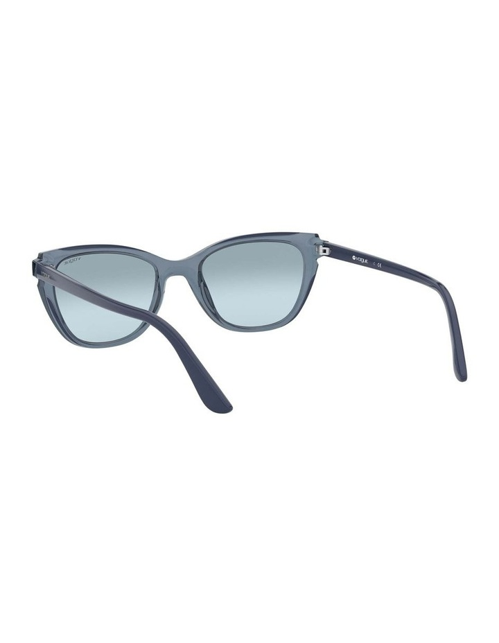 Blue Rectangle Sunglasses 0VO5293S 1526350004 image 6