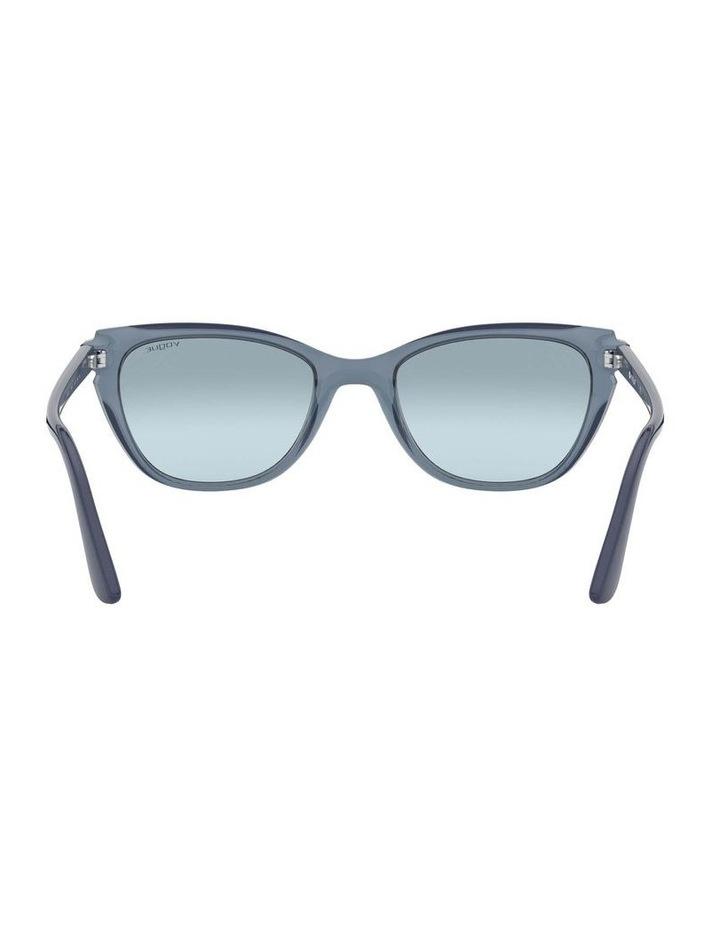 Blue Rectangle Sunglasses 0VO5293S 1526350004 image 7