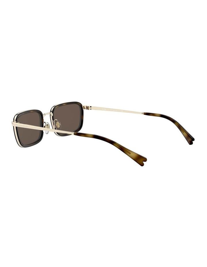 Brown Metal Rectangle Sunglasses 0VO4166S 1529272002 image 5