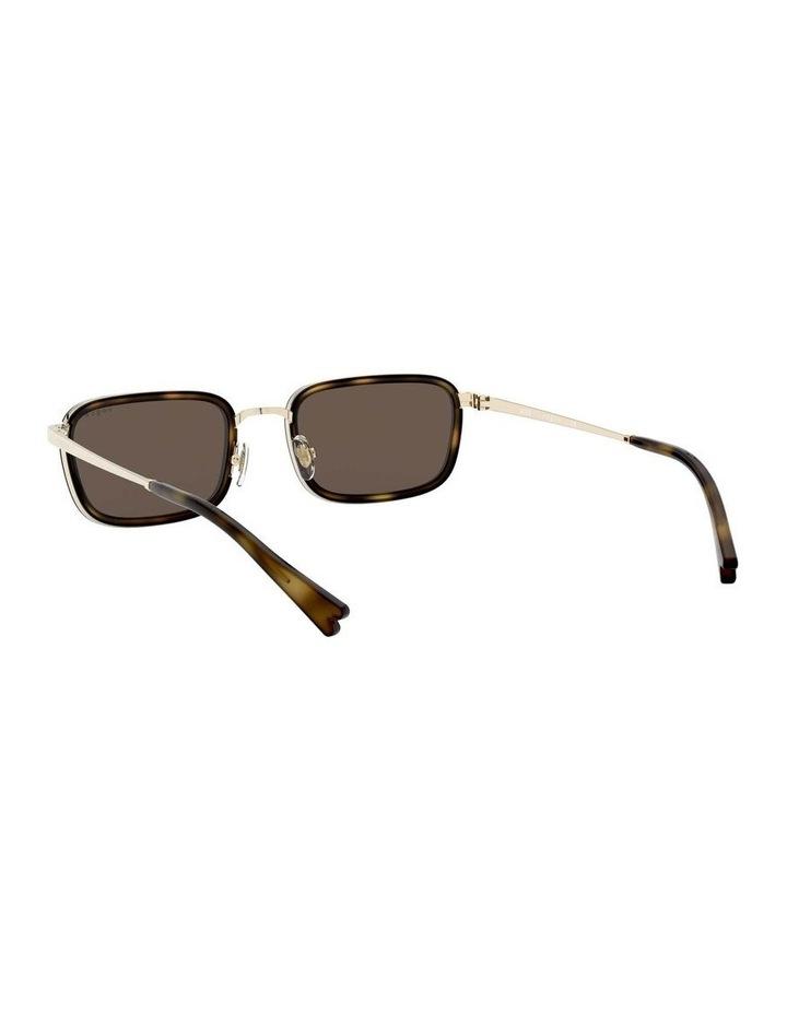 Brown Metal Rectangle Sunglasses 0VO4166S 1529272002 image 6