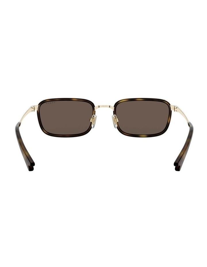 Brown Metal Rectangle Sunglasses 0VO4166S 1529272002 image 7