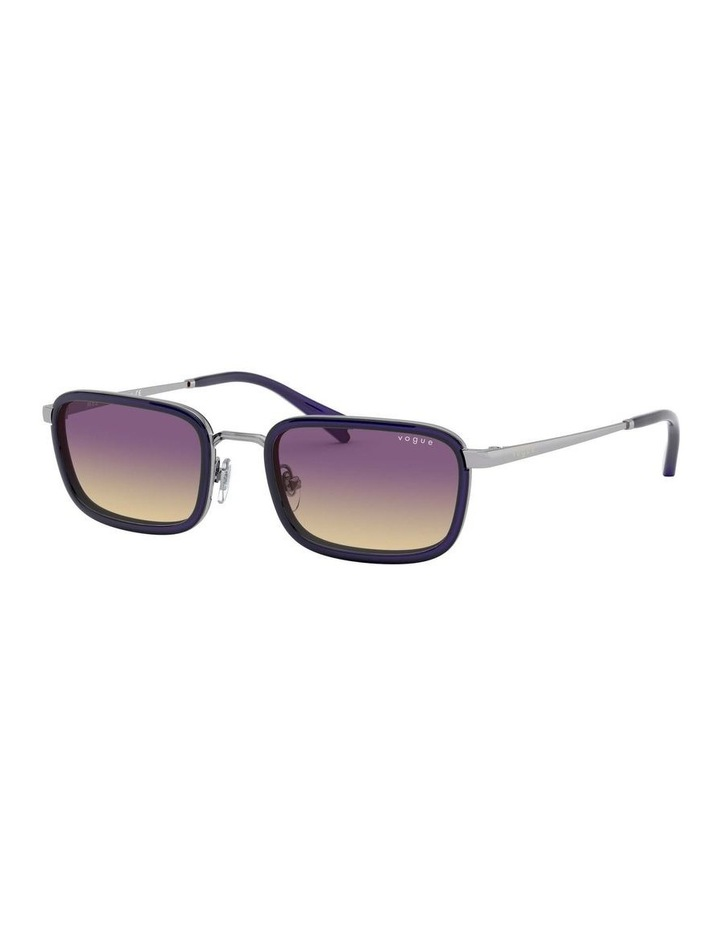 Purple Metal Rectangle Sunglasses 0VO4166S 1529272005 image 1