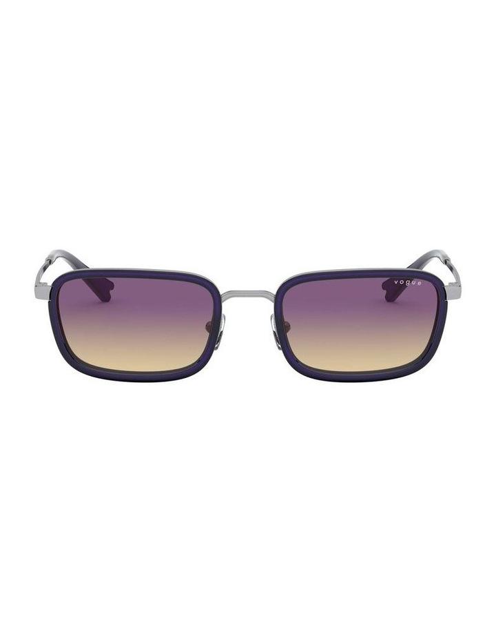 Purple Metal Rectangle Sunglasses 0VO4166S 1529272005 image 2