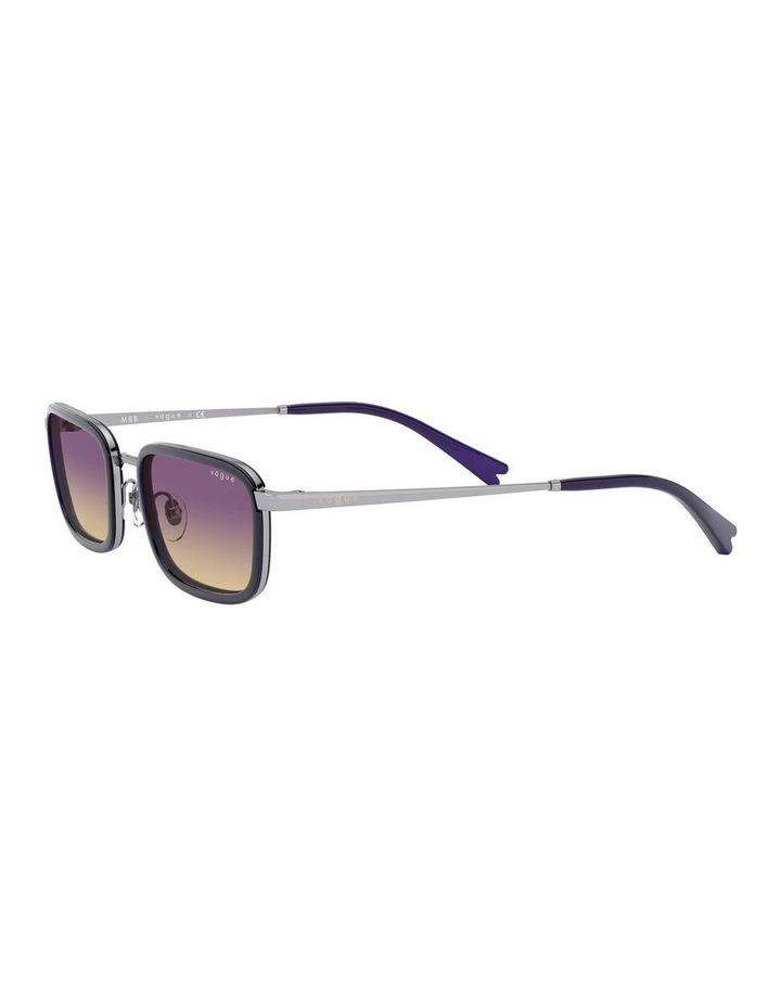 Purple Metal Rectangle Sunglasses 0VO4166S 1529272005 image 3