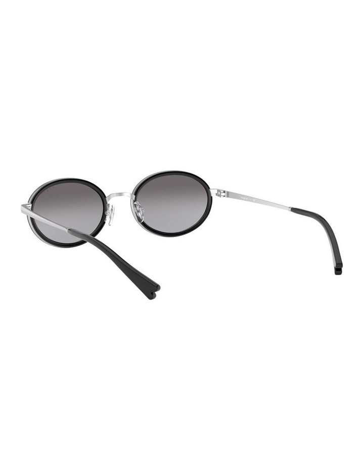 Grey Metal Oval Sunglasses 0VO4167S 1529275001 image 6