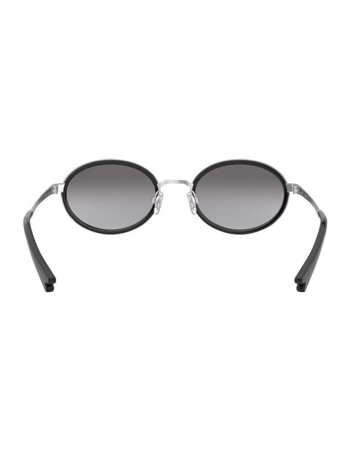 Grey Metal Oval Sunglasses 0VO4167S 1529275001 image 7