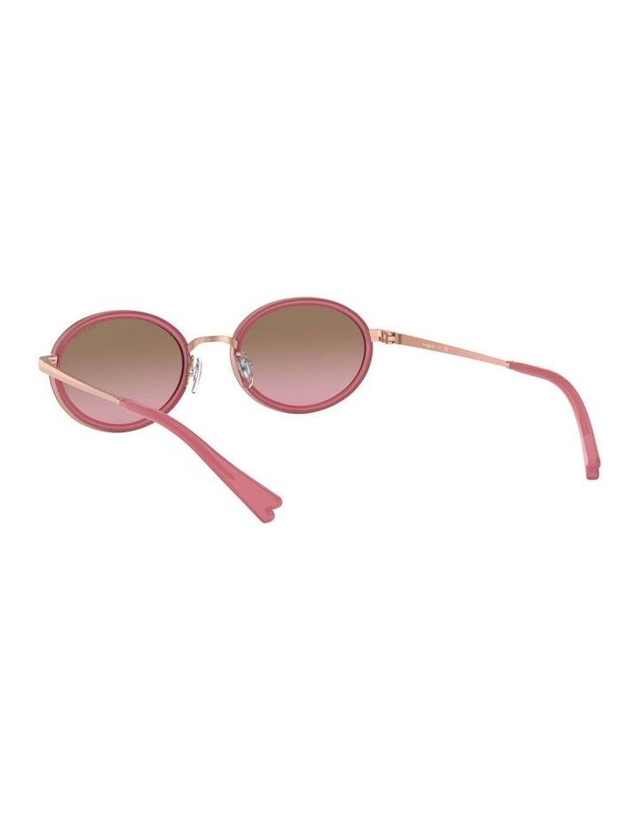Brown Metal Oval Sunglasses 0VO4167S 1529275002 image 6