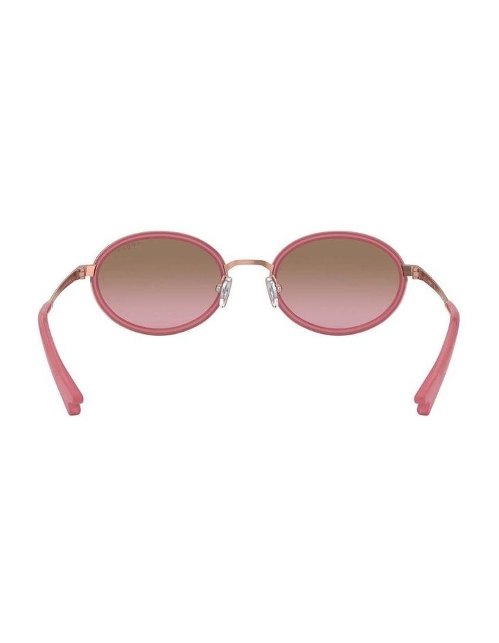 Brown Metal Oval Sunglasses 0VO4167S 1529275002 image 7