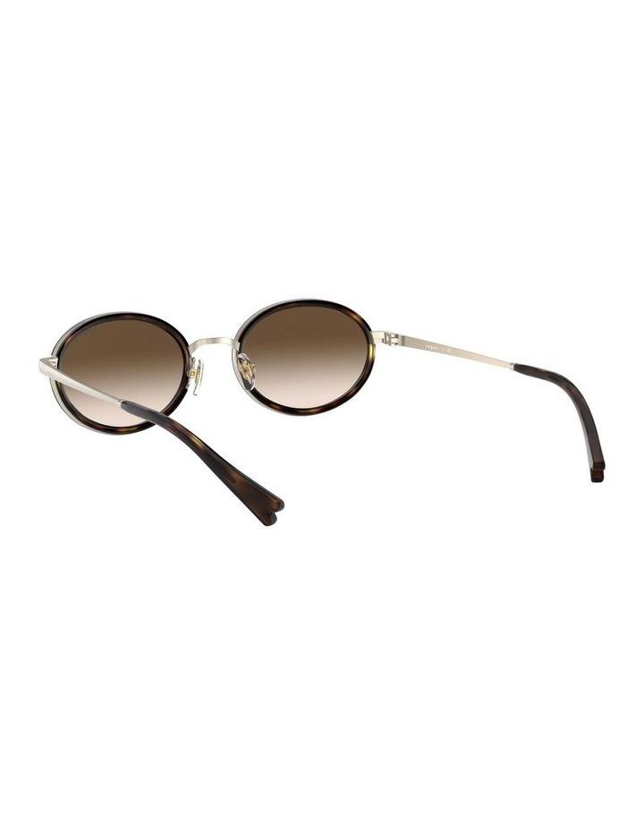 Brown Metal Oval Sunglasses 0VO4167S 1529275004 image 6