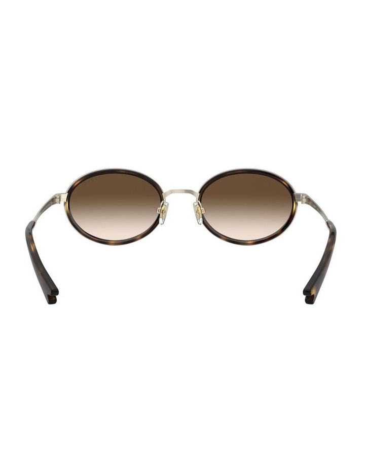 Brown Metal Oval Sunglasses 0VO4167S 1529275004 image 7