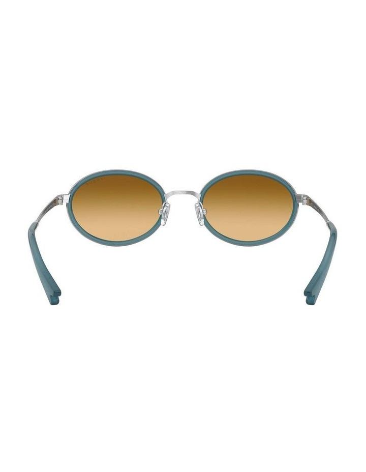 Brown Metal Oval Sunglasses 0VO4167S 1529275005 image 7