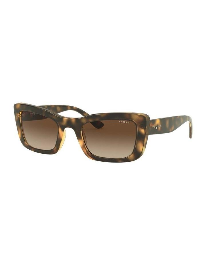 Brown Square Sunglasses 0VO5311S 1529439005 image 1
