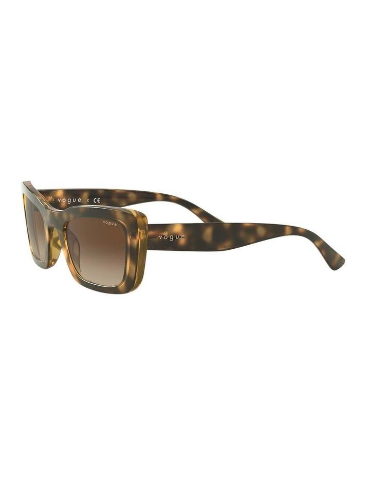 Brown Square Sunglasses 0VO5311S 1529439005 image 3