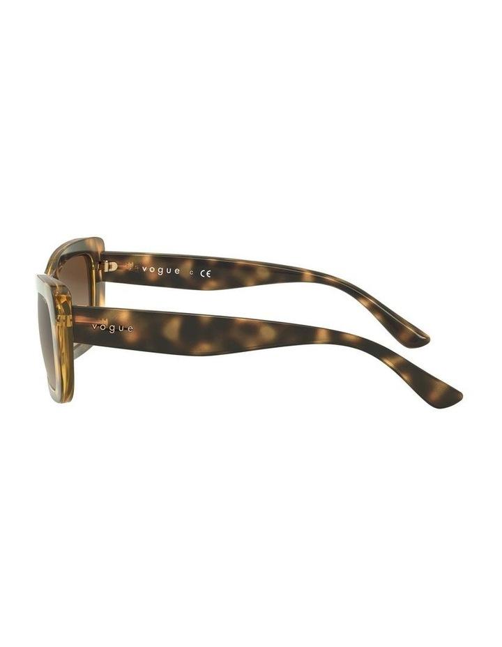 Brown Square Sunglasses 0VO5311S 1529439005 image 4